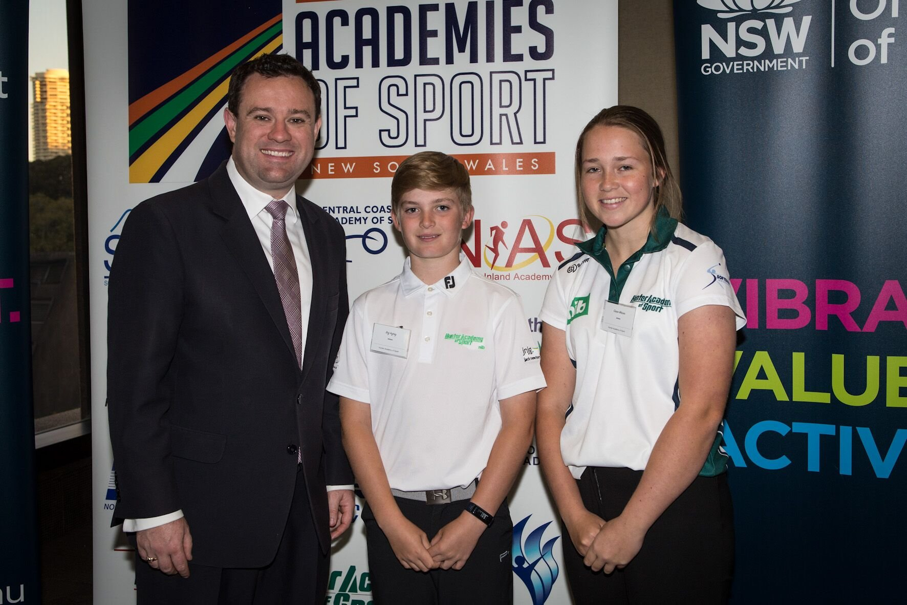 On Tuesday 19 September, two HAS athletes made their way to NSW Parliament House for a leadership forum followed by a Parliamentary Reception.