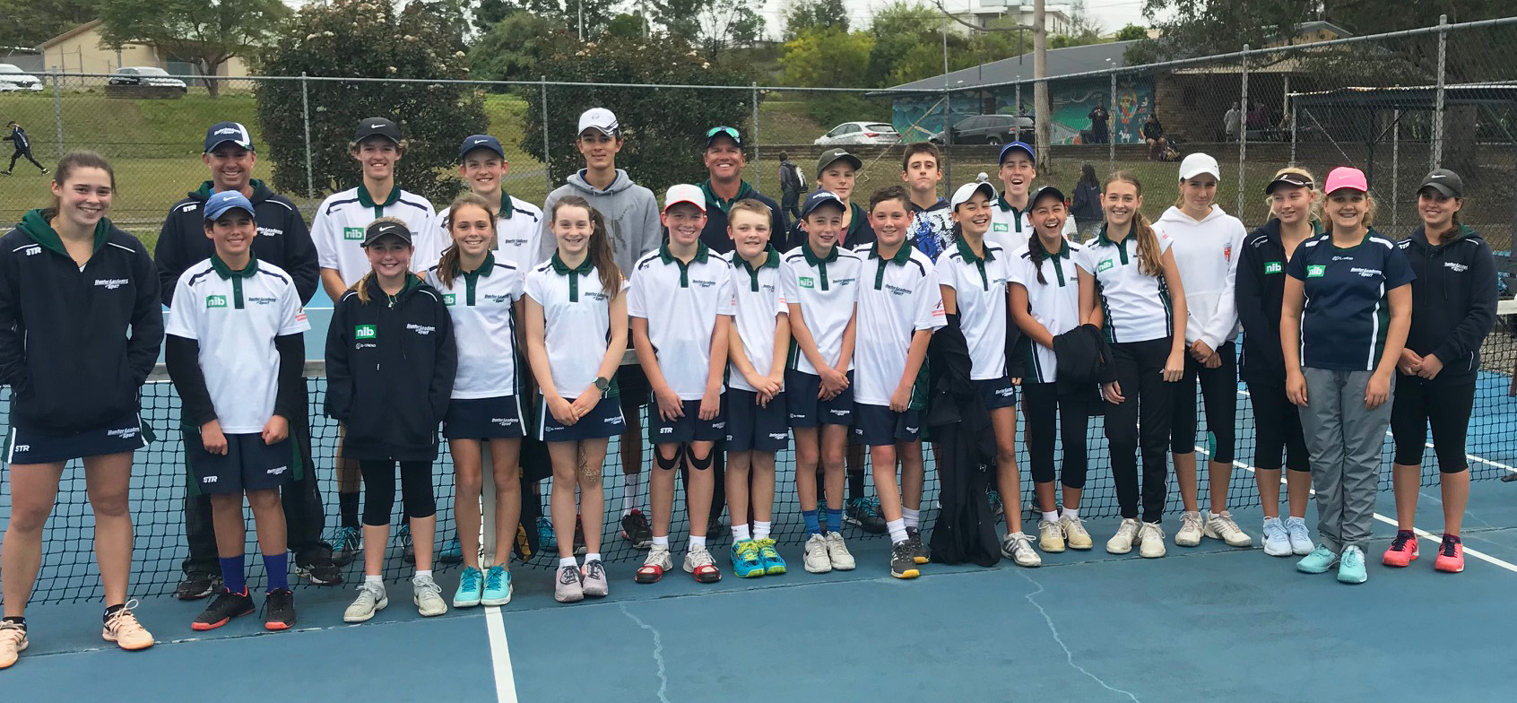 The 2018 Hunter Academy of Sport (HAS) tennis squad were lucky enough to be visited by some of greats of their sport earlier this month, attending the Northumberland Region Talent Camp in Gosford.