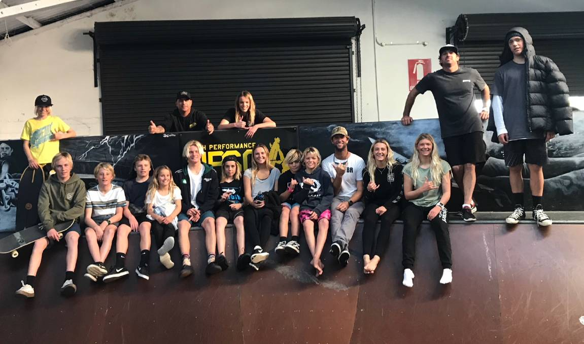 The Hunter Academy of Sport Surfing Squad had the chance to spend a training day down at Manly Surf School using the high performance facilities!