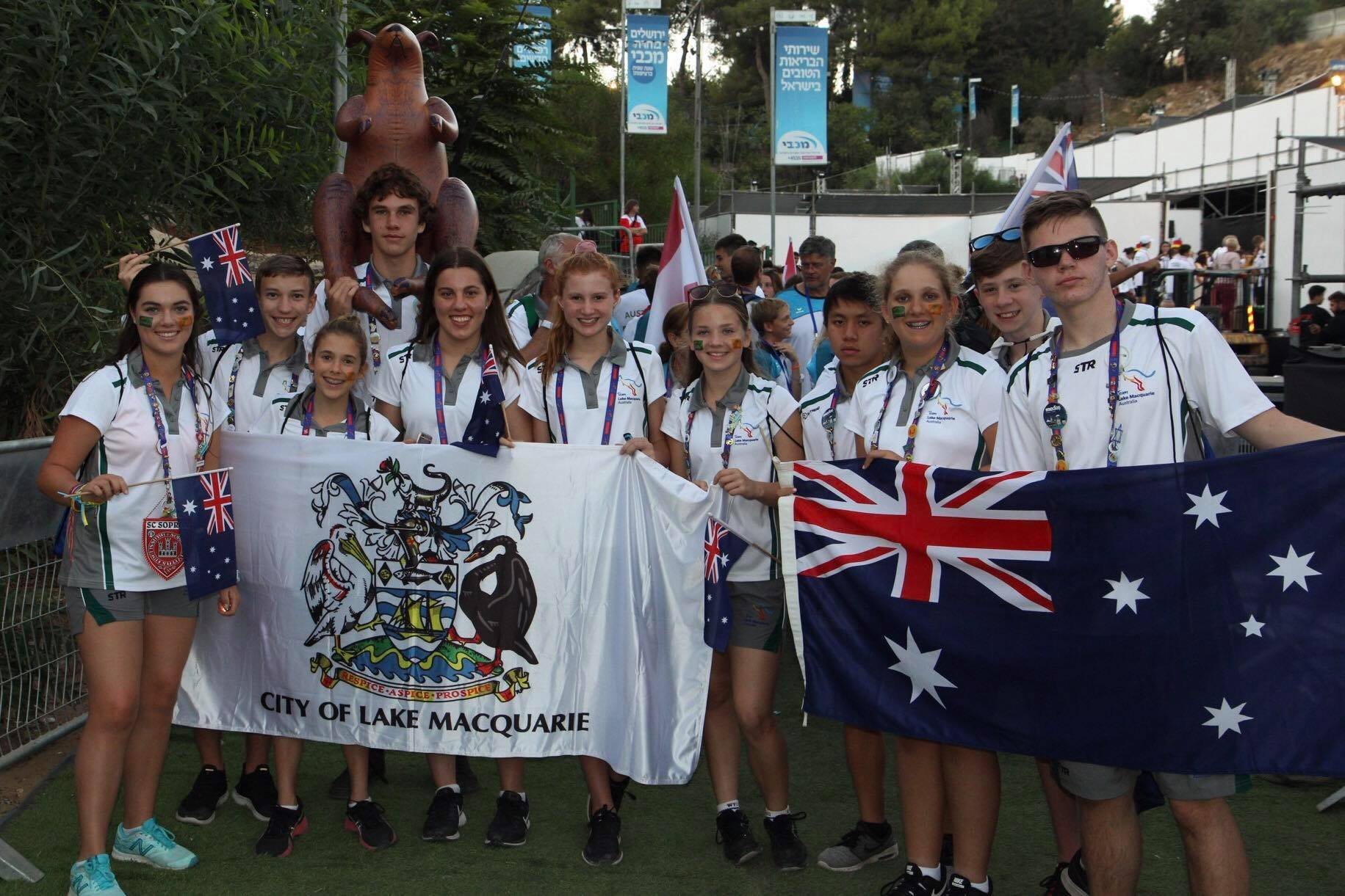 The first members of Team Lake Mac arrived home on Sunday following an unforgettable experience at the Jerusalem-held International Children's Games that was both rich in culture and sporting competition.