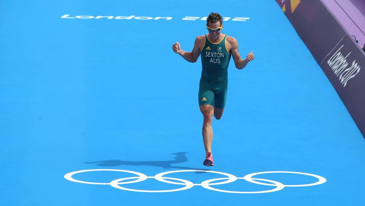 Brendan Sexton wasn't confident of getting a Hunter Academy of Sport scholarship when he was a late starter to triathlon at age 15.