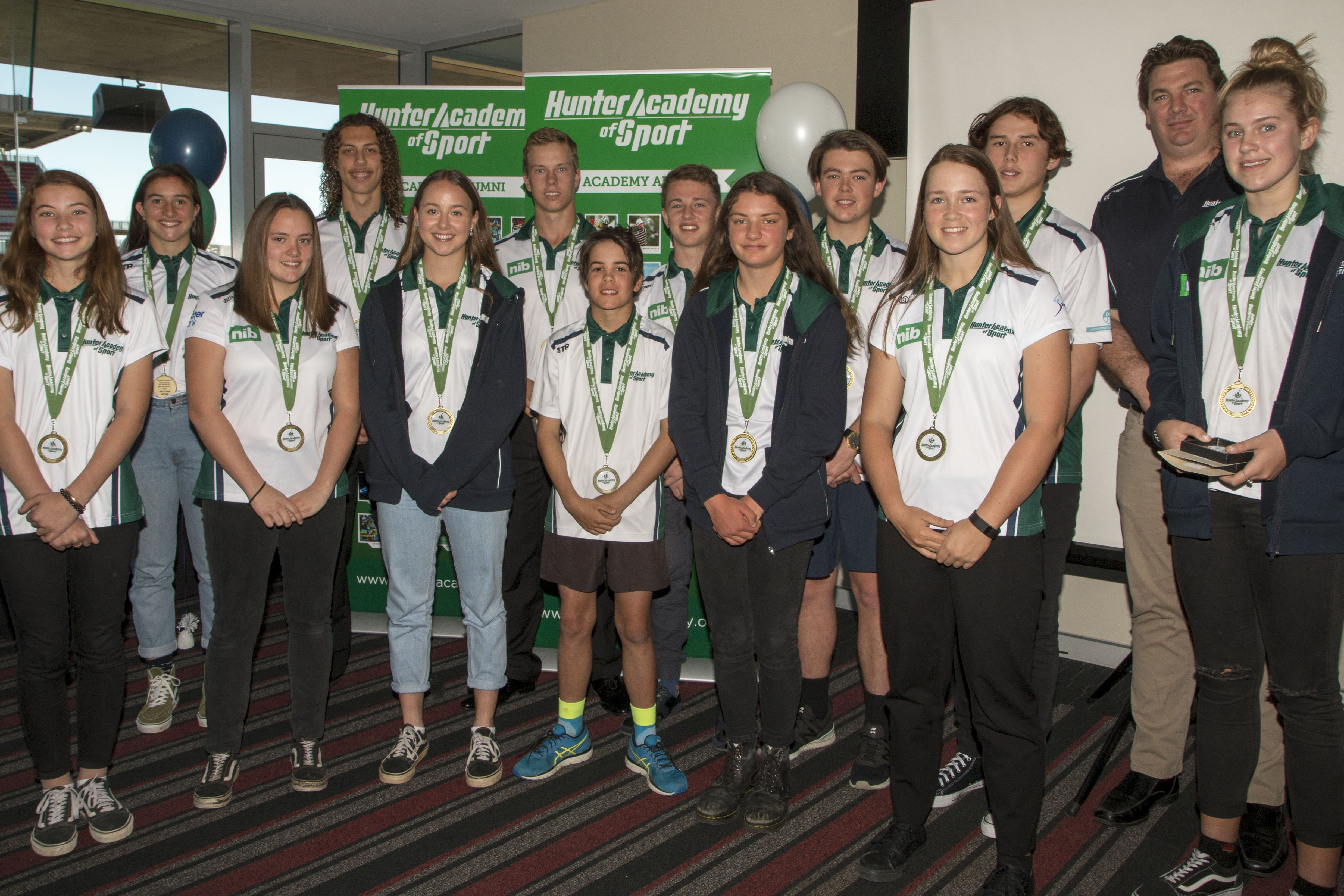 Twenty-one Hunter athletes have been recognised for their talent and dedication at the 2018 Hunter Academy of Sport Awards Ceremony held at McDonald Jones Stadium on Sunday, 16th September 2018.