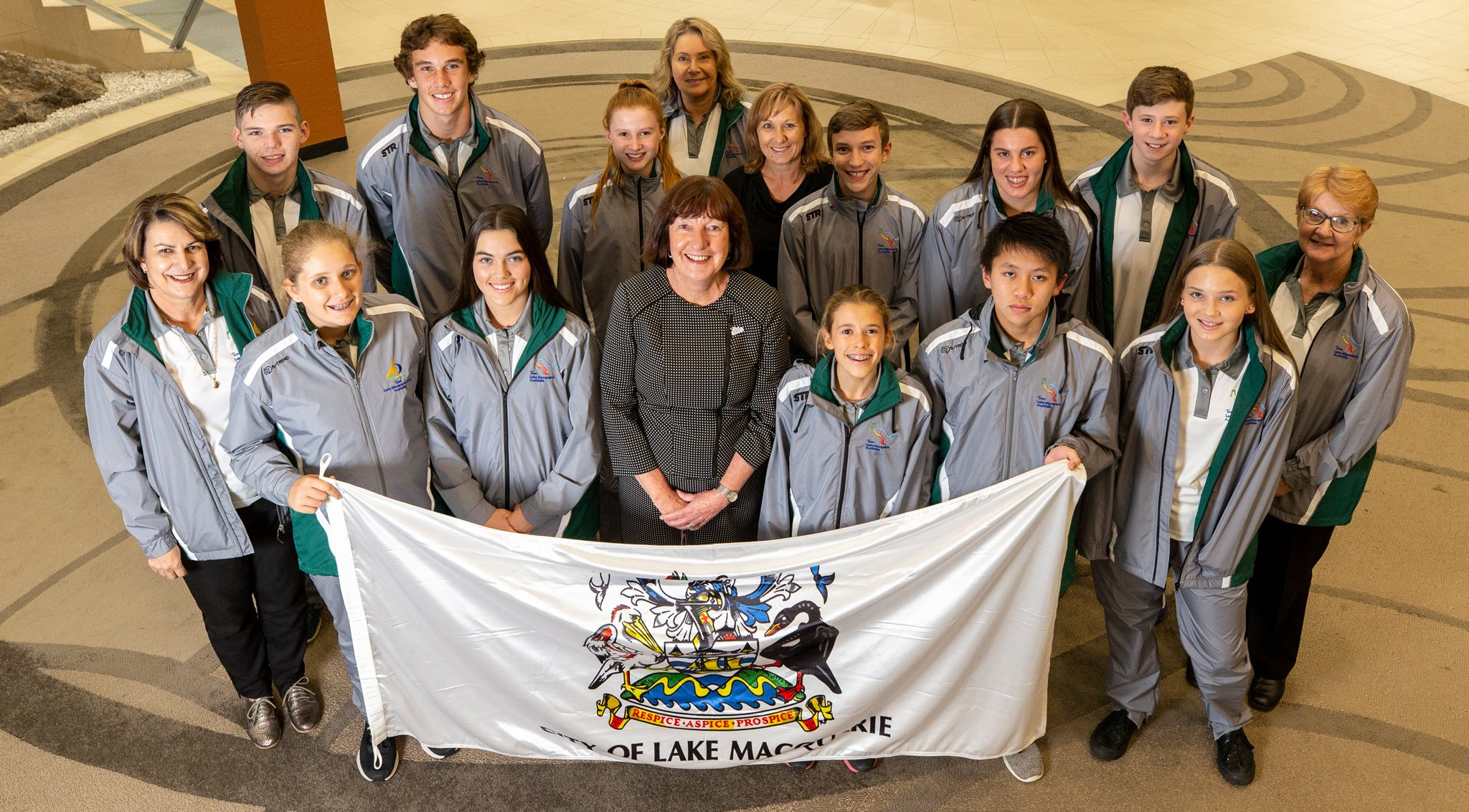 The search is on for junior athletes to represent Lake Macquarie next year at the world's largest multi-sports youth games competition.