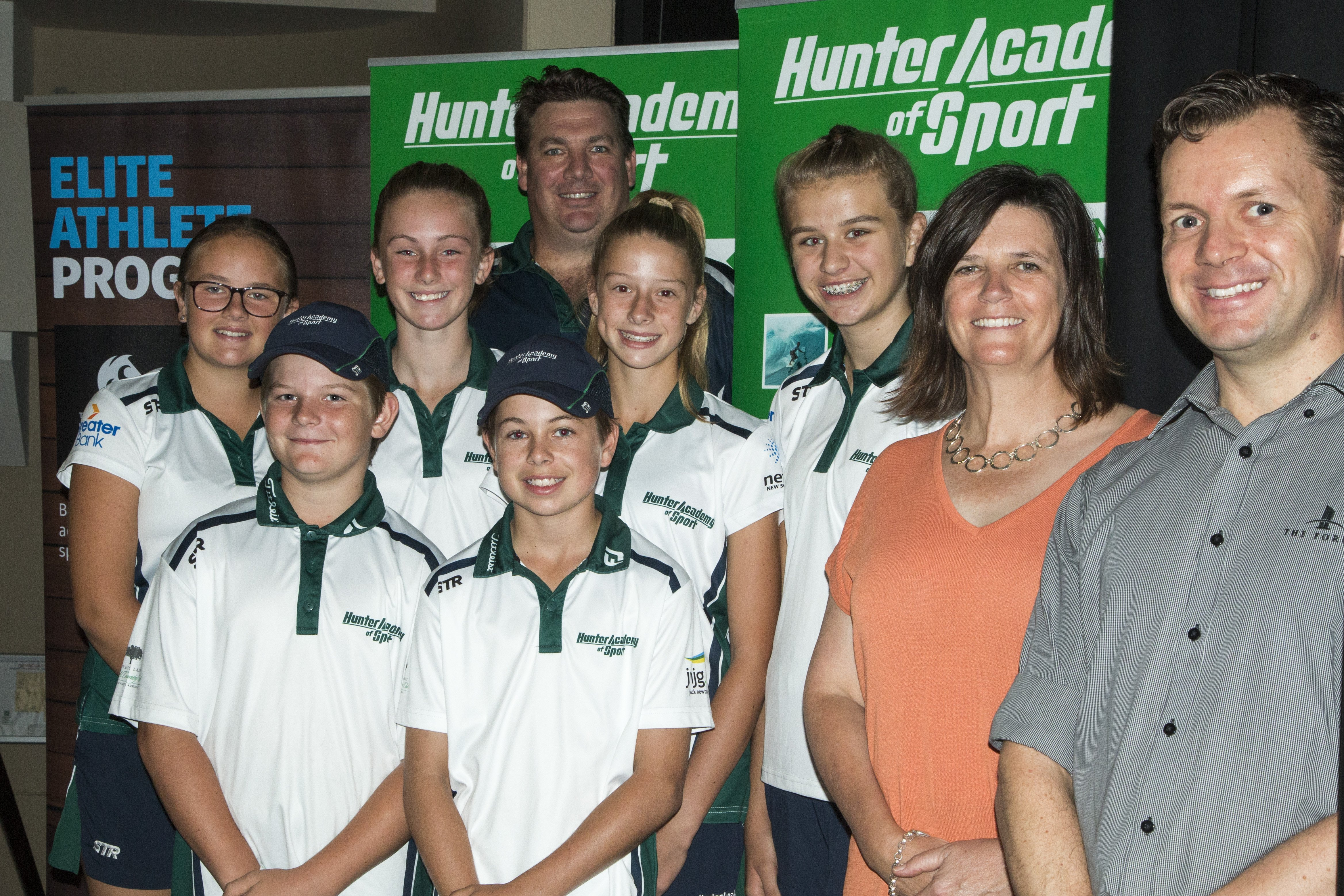 The Hunter and Central Coast Academies of Sport have announced a ground-breaking tri-partisan partnership with the University of Newcastle this weekend, with a launch held at the University's Griffith Duncan Theatre on Saturday 9th March.