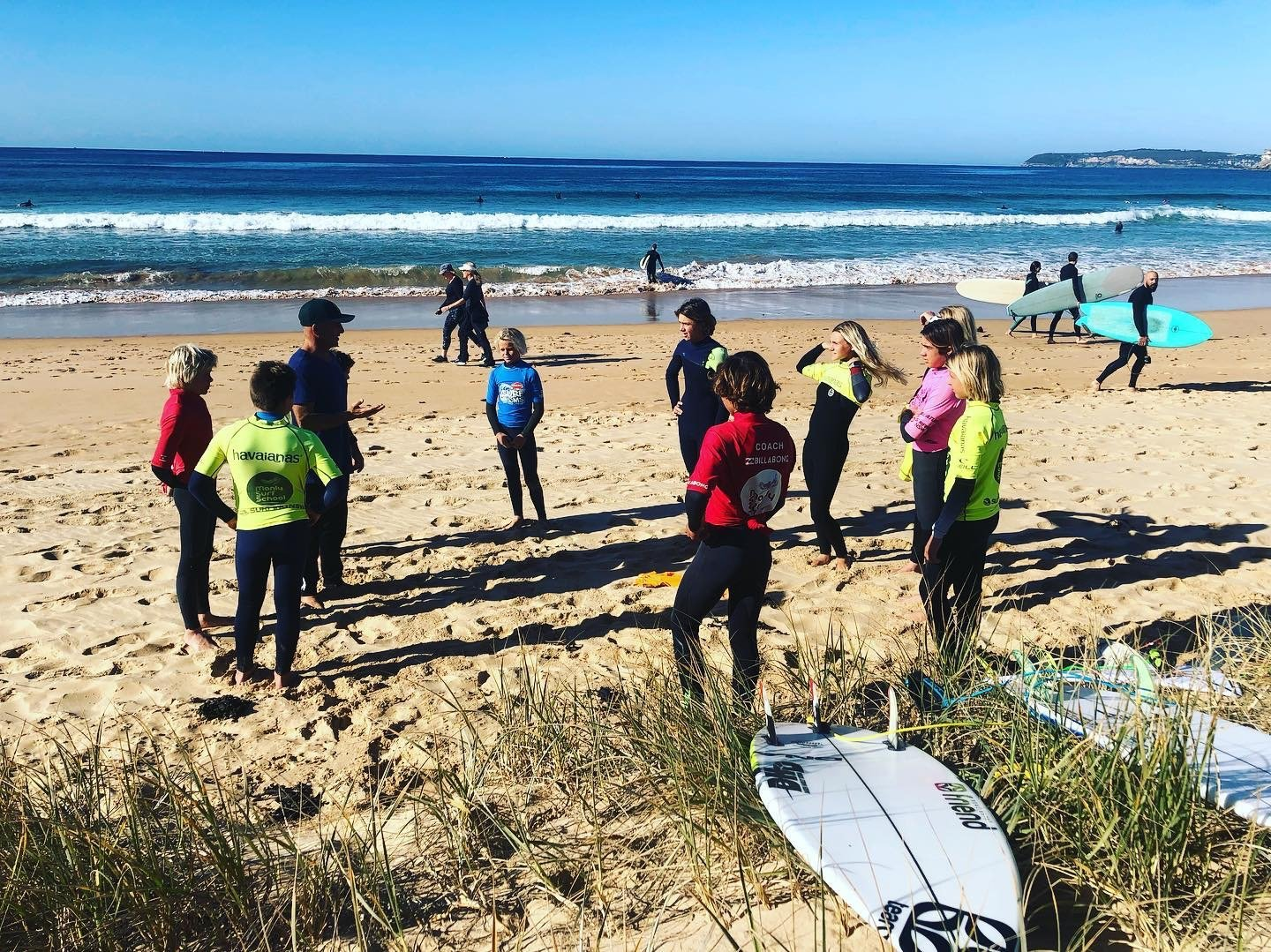 Hunter Academy of Sport surfers were mixing with top quality coaches and top-level facilities last week, attending the Manly Surf School High Performance Centre as part of the 2019/2020 Program.