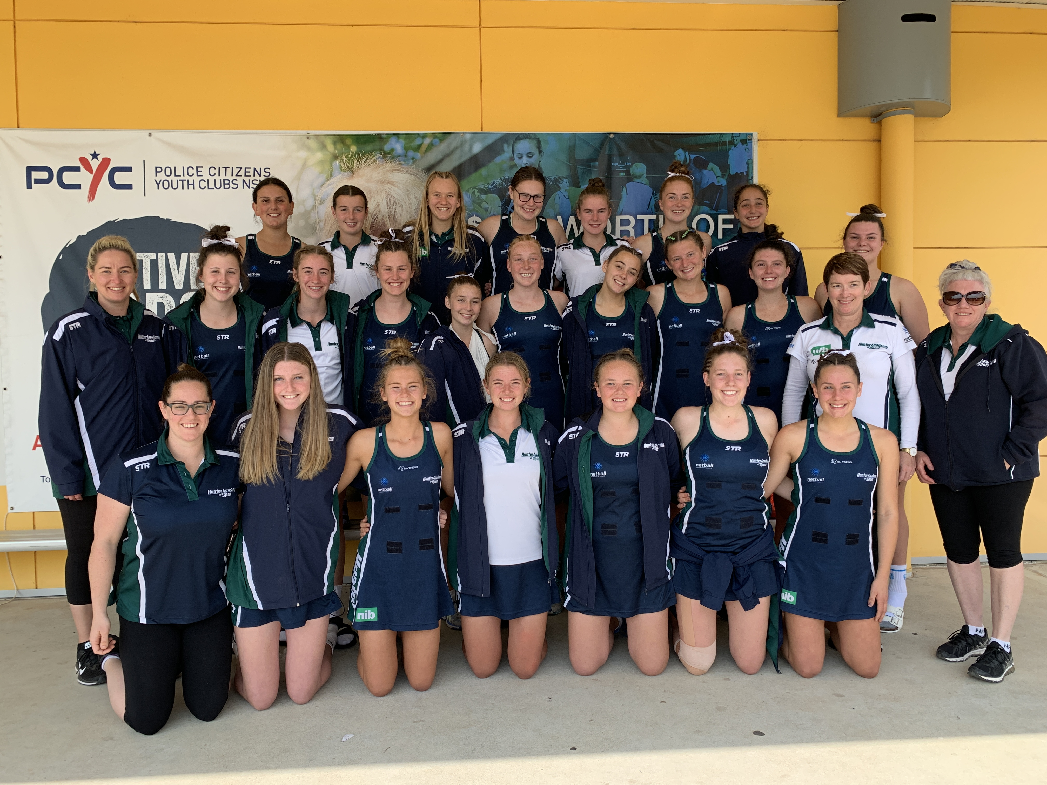HUNTER Academy of Sport's netball squad claimed a competition win and gained valuable experience in a two-day regional netball meet in Orange recently.