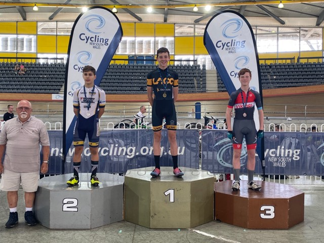 The Hunter Academy of Sport Cycling squad has been hard at work this past month, securing podium finishes across multiple races at Sydney's Dunc Gray Velodrome, Clarence Street Cup and NSW State Elimination Championships.